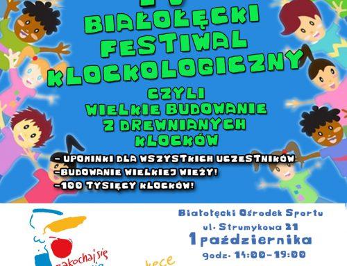 IV Białołęcki Festiwal Klockologia w Warszawie